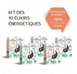 Kit de 10 Elixirs Energétiques Bio